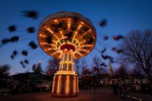 Tivoli Park in Copenhagen