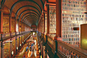Trinity College in Dublin