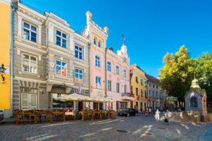 Vene and Pikk Tänav street in Tallinn
