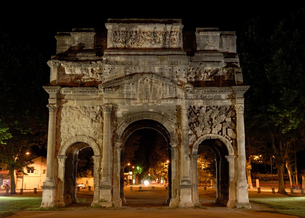 Arch de Triompheof Orange