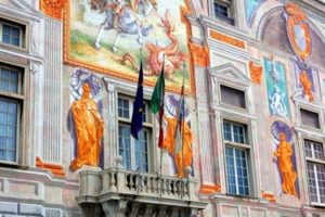 The Rolli Palaces in Genoa