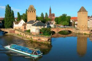 A boat trip in Strasbourg