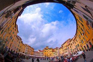 Amphitheatre square in Lucca