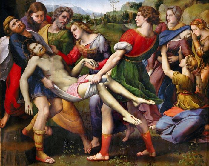 Deposition - Raffaello – Galleria Borghese