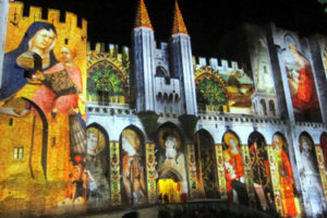 Les Luminessences in Avignon