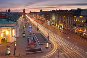 Nevsky Prospekt in St. Petersburg