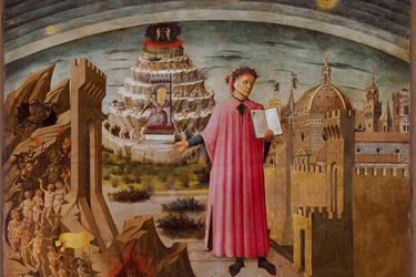 Paintings depicting Dante by Domenico di Michelino