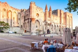 Palais des Papes - The Palace of the Popes in Avignon