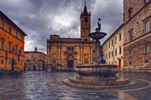 Piazza Arringo in Ascoli Piceno