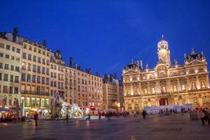 Place des Terreaux in Lyon