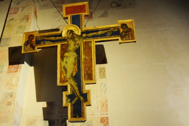 Sacristy with the Crucifix of Cimabue