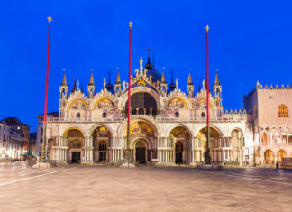 The Basilica of San Marco in Venice