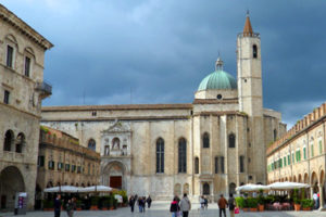The Church of San Francesco in Ascoli Piceno