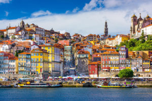 The District of Ribeira in Porto