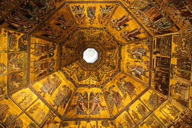 The Dome of the Baptistery
