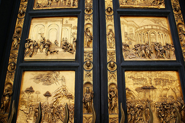 The Door of Paradise & Florence | Battistero di San Giovanni in Florence Pezcame.Com