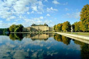 The Drottningholm Castle in Stockholm