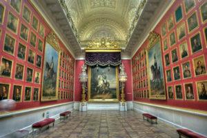 The Hermitage Museum in St. Petersburg
