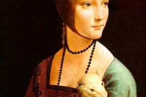 The Lady with an Ermine in Kracow