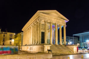 The Maison Carrée in Nîmes