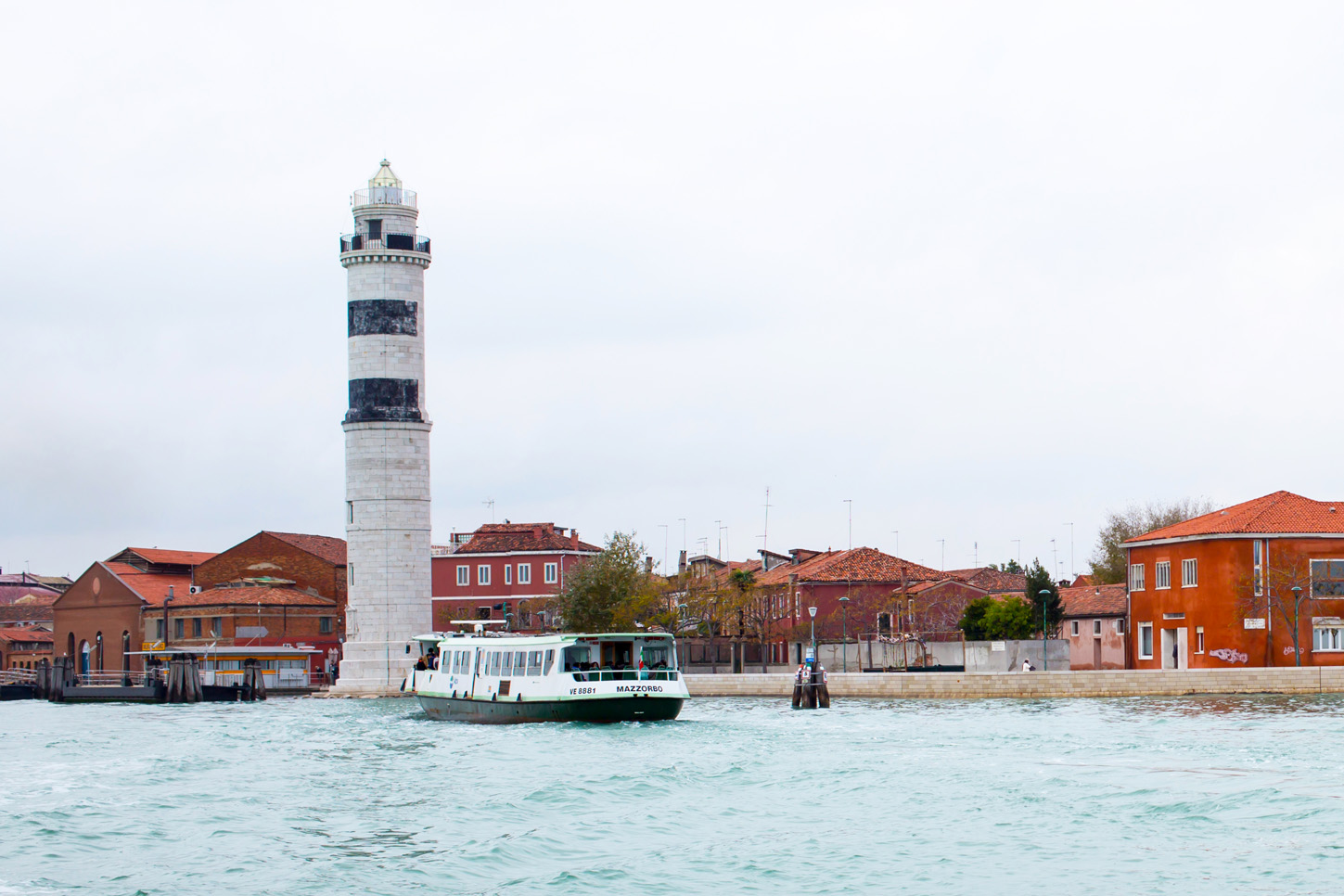 The Murano lighthouse