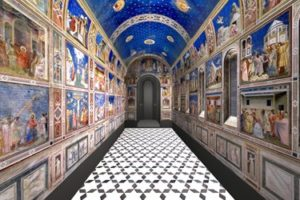 The Scrovegni Chapel in Padua