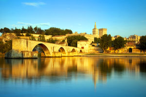 The St.Bénézet Bridge in Avignon