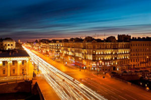 The White Nights of St. Petersburg