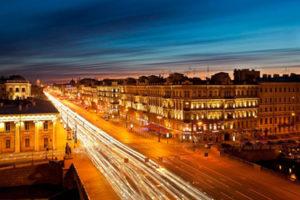 The White Nights of St. Petersburg