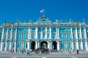 The Winter Palace in St. Petersburg