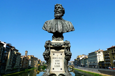 The bust of Benvenuto Cellini