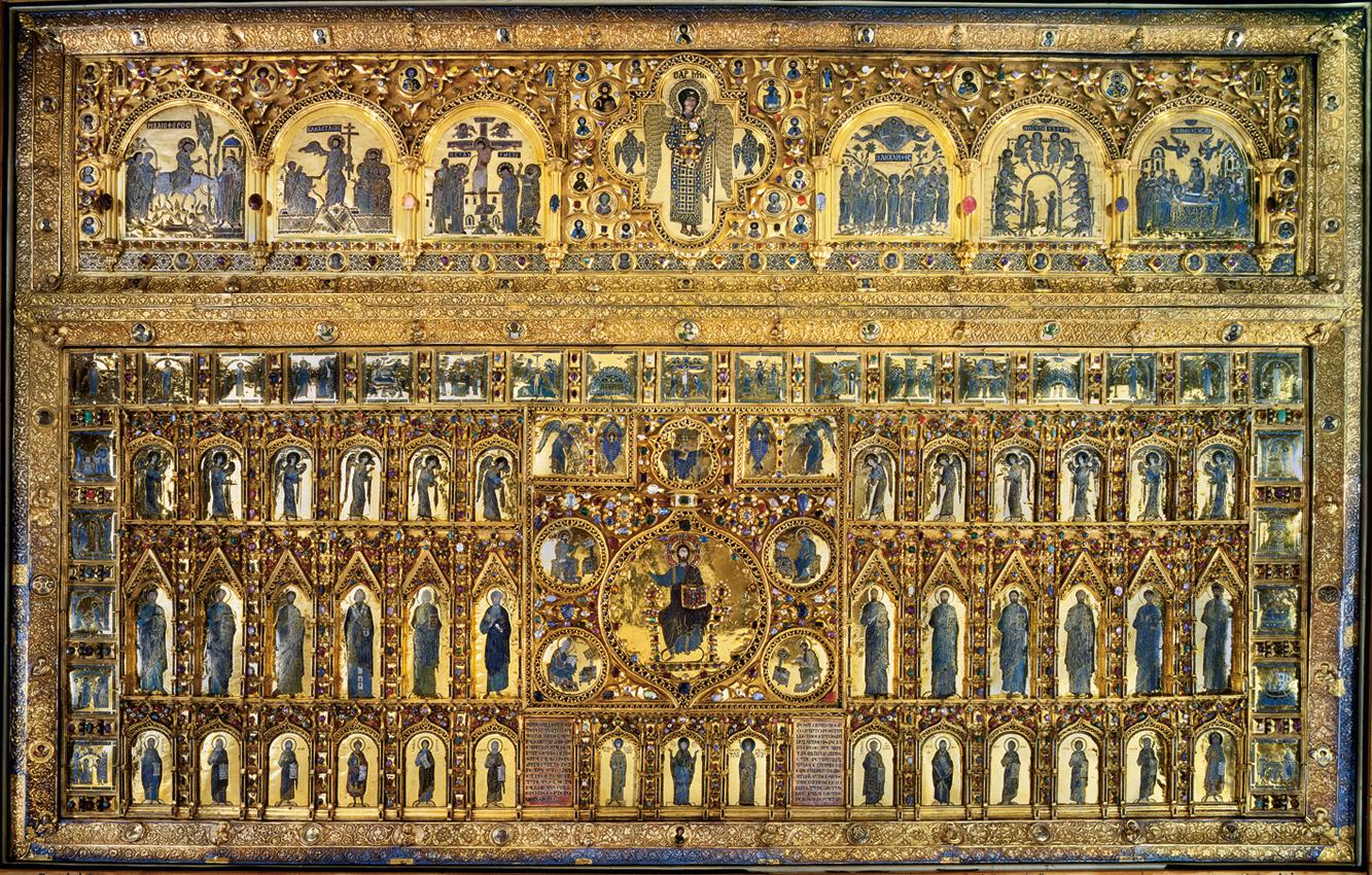 Venice the basilica of san marco in venice for Pala de oro