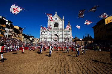 The historical Calcio Fiorentino