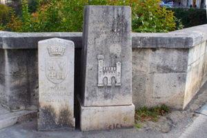 Via delle Stelle and Roman Bridge in Ascoli Piceno