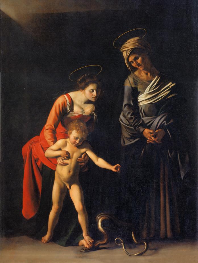 Madonna -palafrenieri-Caravaggio
